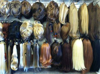 Human hair and synthetic toppers at Kim s Wig Botik 75bf1c7b6