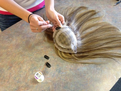 Wig Customization, Service and Repair  Kim's Wig Botik, Denver, Colorado